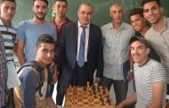من فعاليات بطولة الشطرنج بالكلية