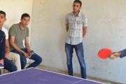 من فعاليات بطولة تنس الطاولة